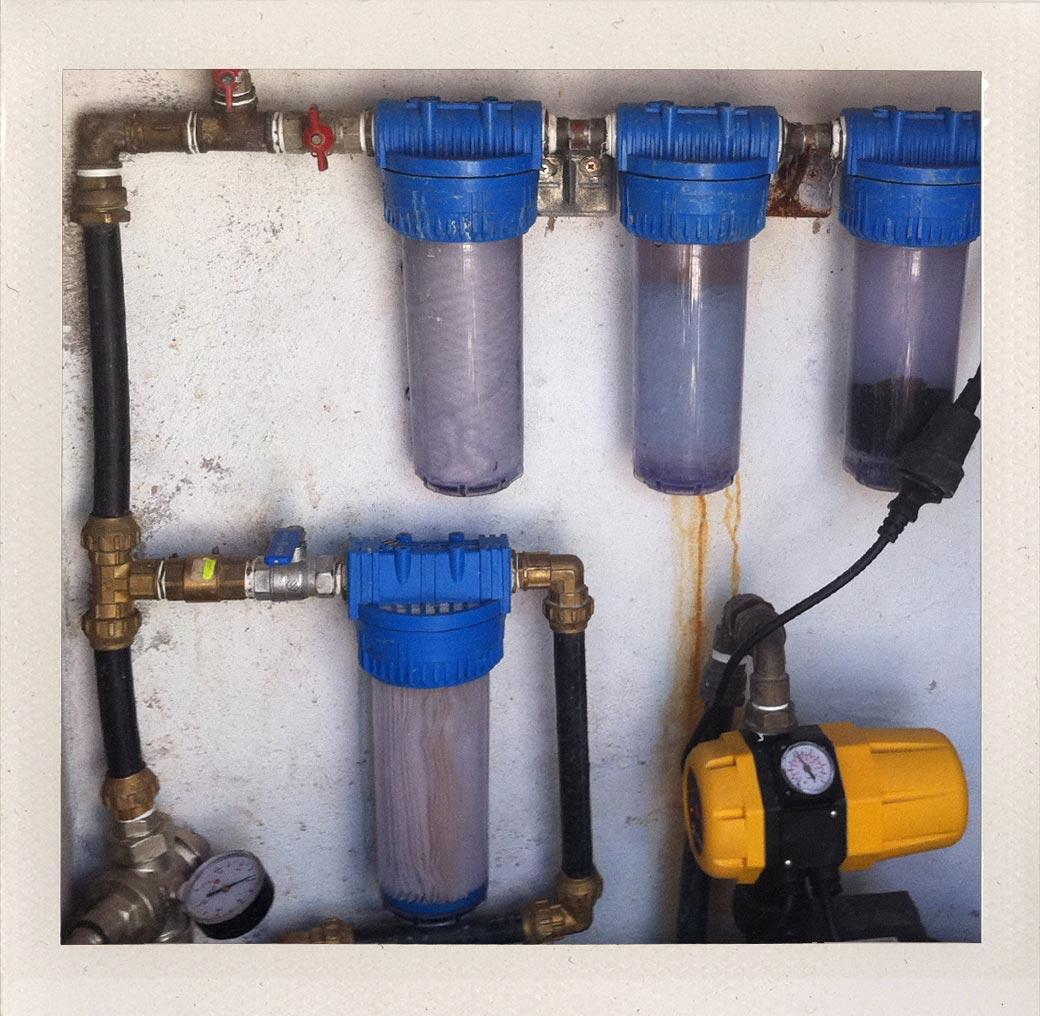 Pump system installation in Malaga, Spain
