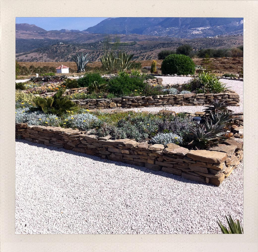 Landscaping design in Malaga