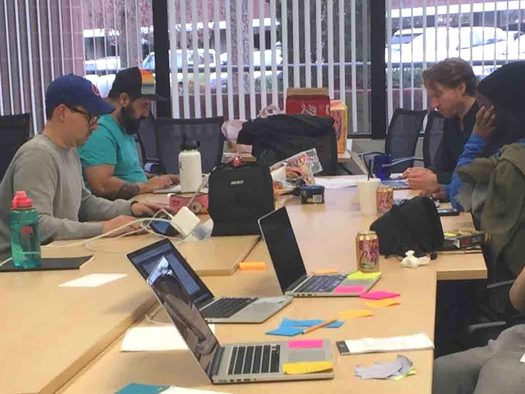 Open-Air Collaboration Environment
