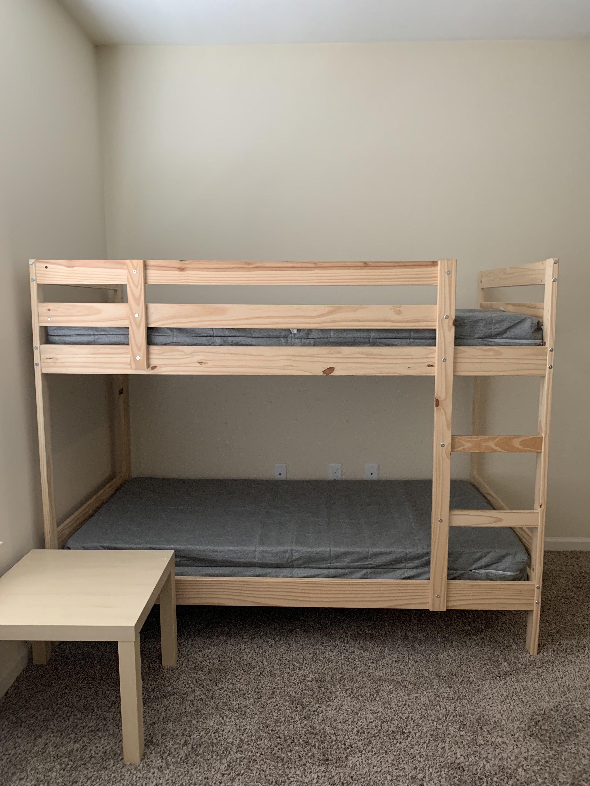 Bunk bed 1 $90 - Bethany Ufema