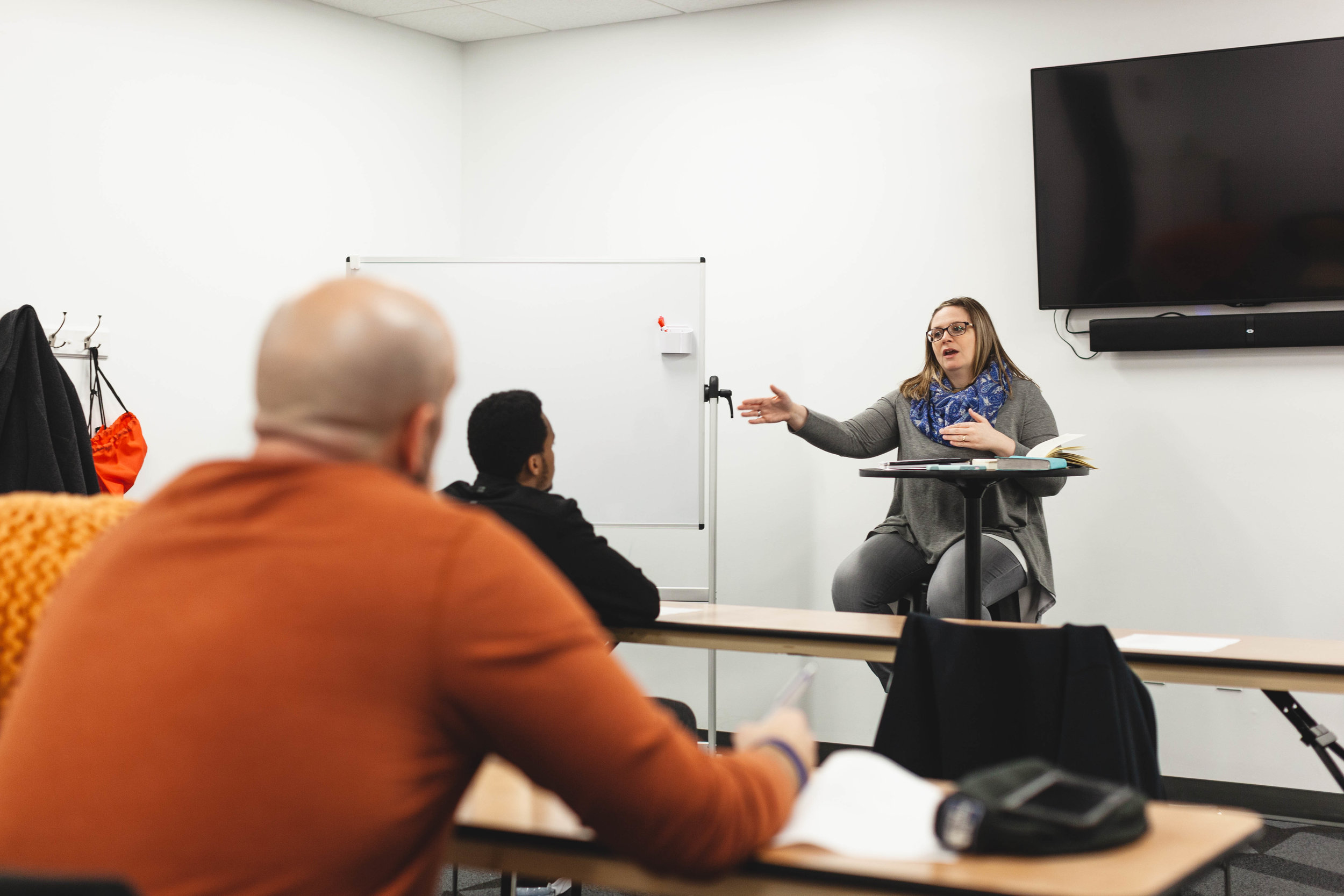 The Classroom Experience - World-class leadership training. Biblical education. Facilitators who care.Hear how our program equips you with the Biblical Leadership knowledge that empowers you in ministry, the marketplace, and beyond.