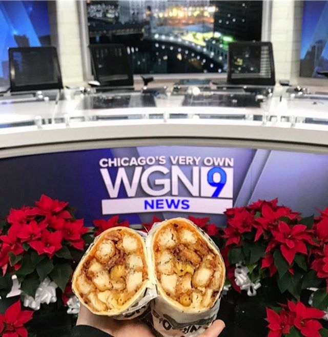 Who saw us live this morning on @wgnnews?! 🙋🏼♀️ Check the link in bio to watch our TV debut, and learn how to make your own Conrad's-inspired Tot Wrap! 🌯☝🏼☝🏼☝🏼 #ConradsGrillChicago