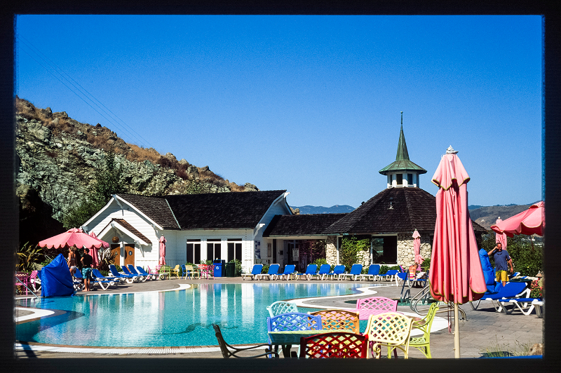 Madonna Inn 2014 Archival fine art print from 35mm slide 30.5 x 43.1 in  Edition available from the Royal Academy here