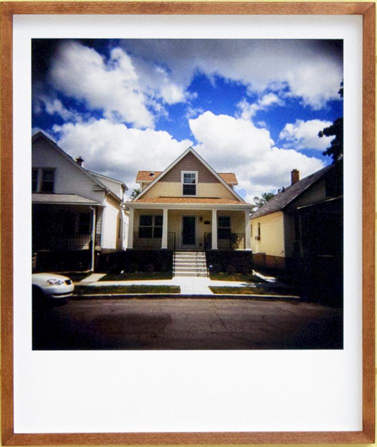 Hamtramck House 2014 Archival fine art print from 120mm slide 16.1 x 13.4 in