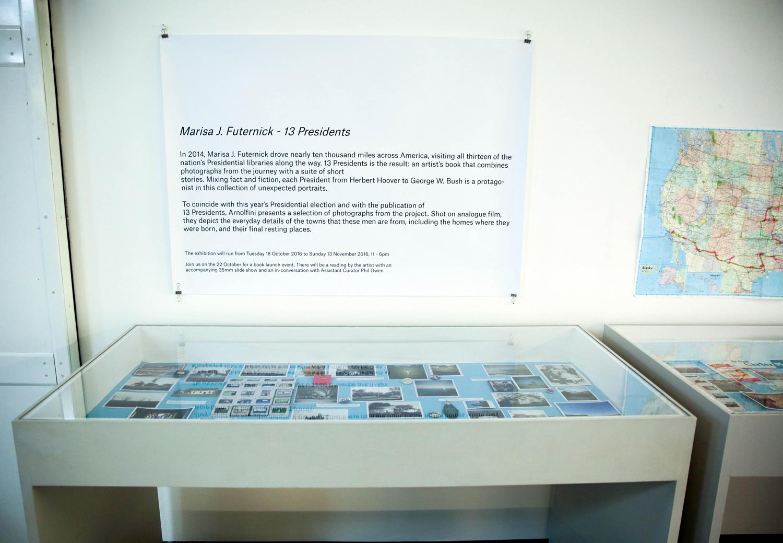 13 Presidents (installation view)  Arnolfini , Bristol, UK October 18–November 13, 2016