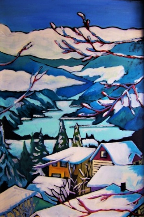 Winter Dreams 18x28