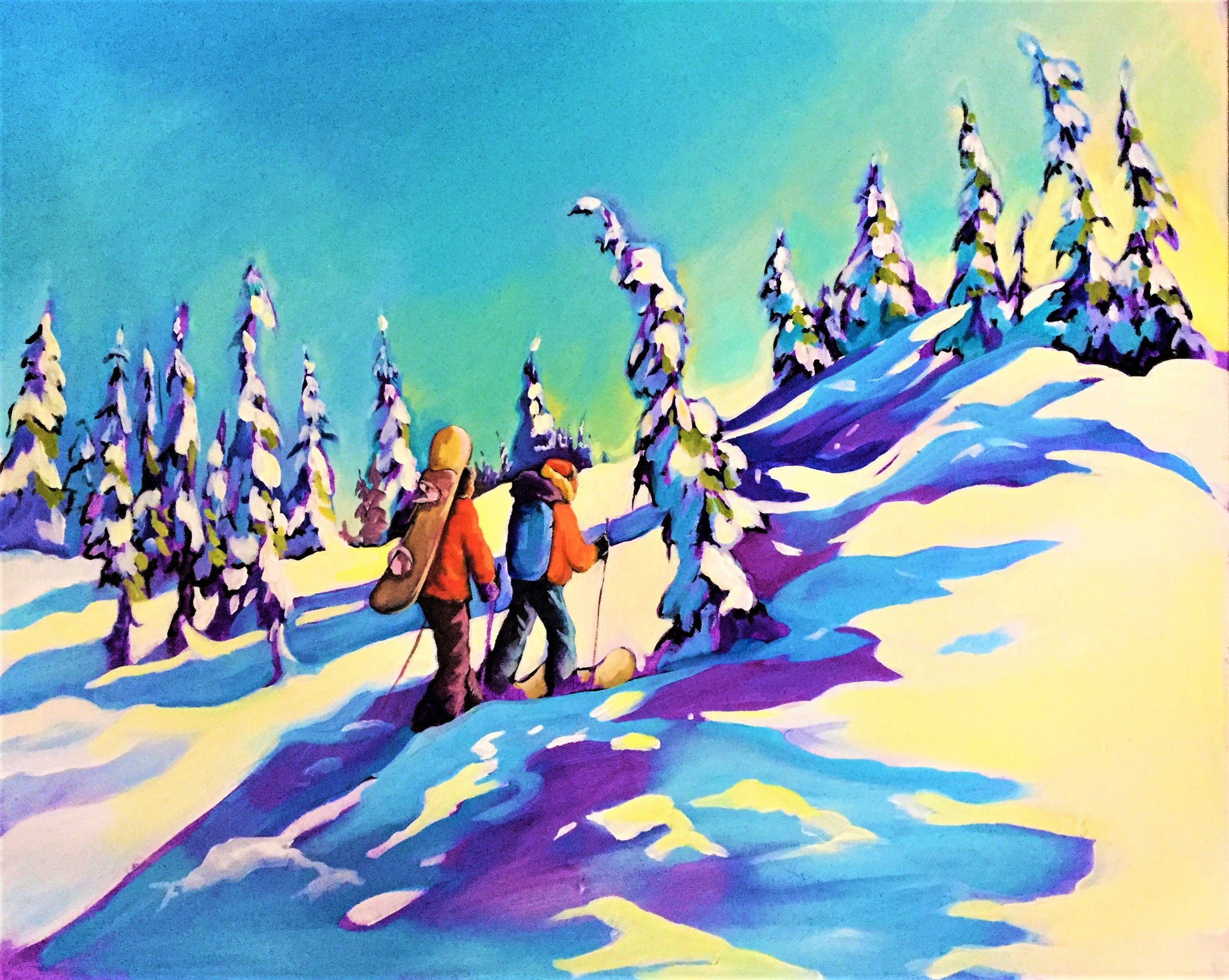 Canadian Pastimes 2  24x30 $1300