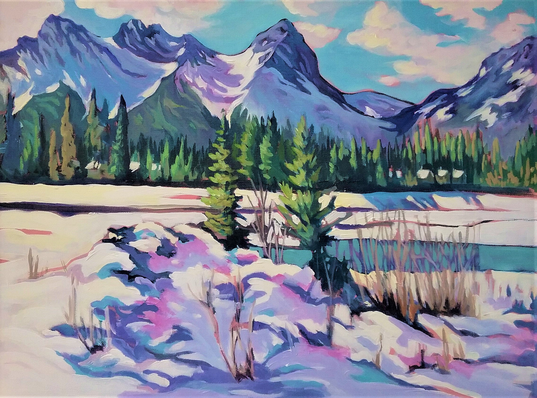 Canmore Majestic 16x20 $600