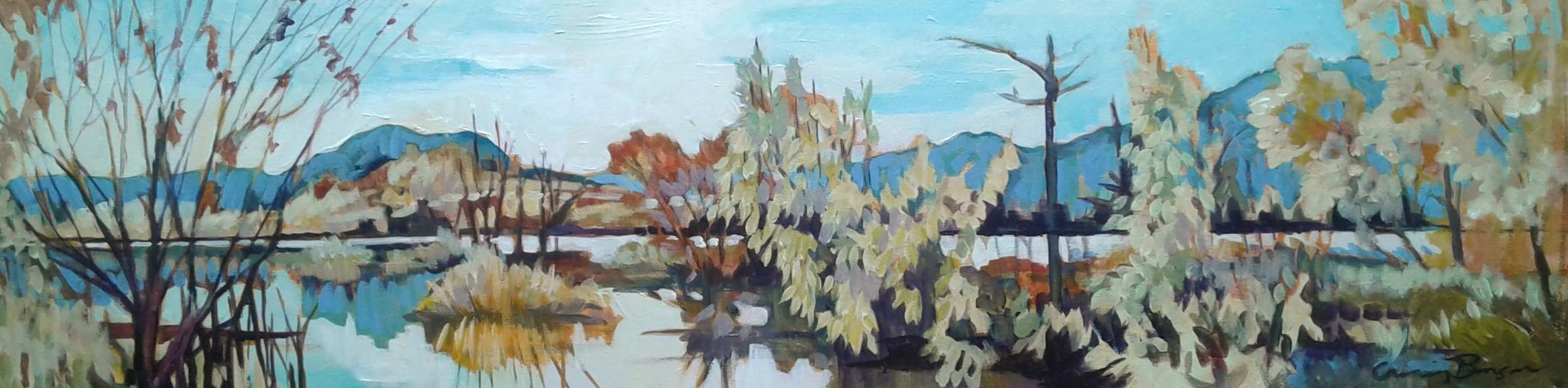 Kelowna Wetlands 8x30 $450
