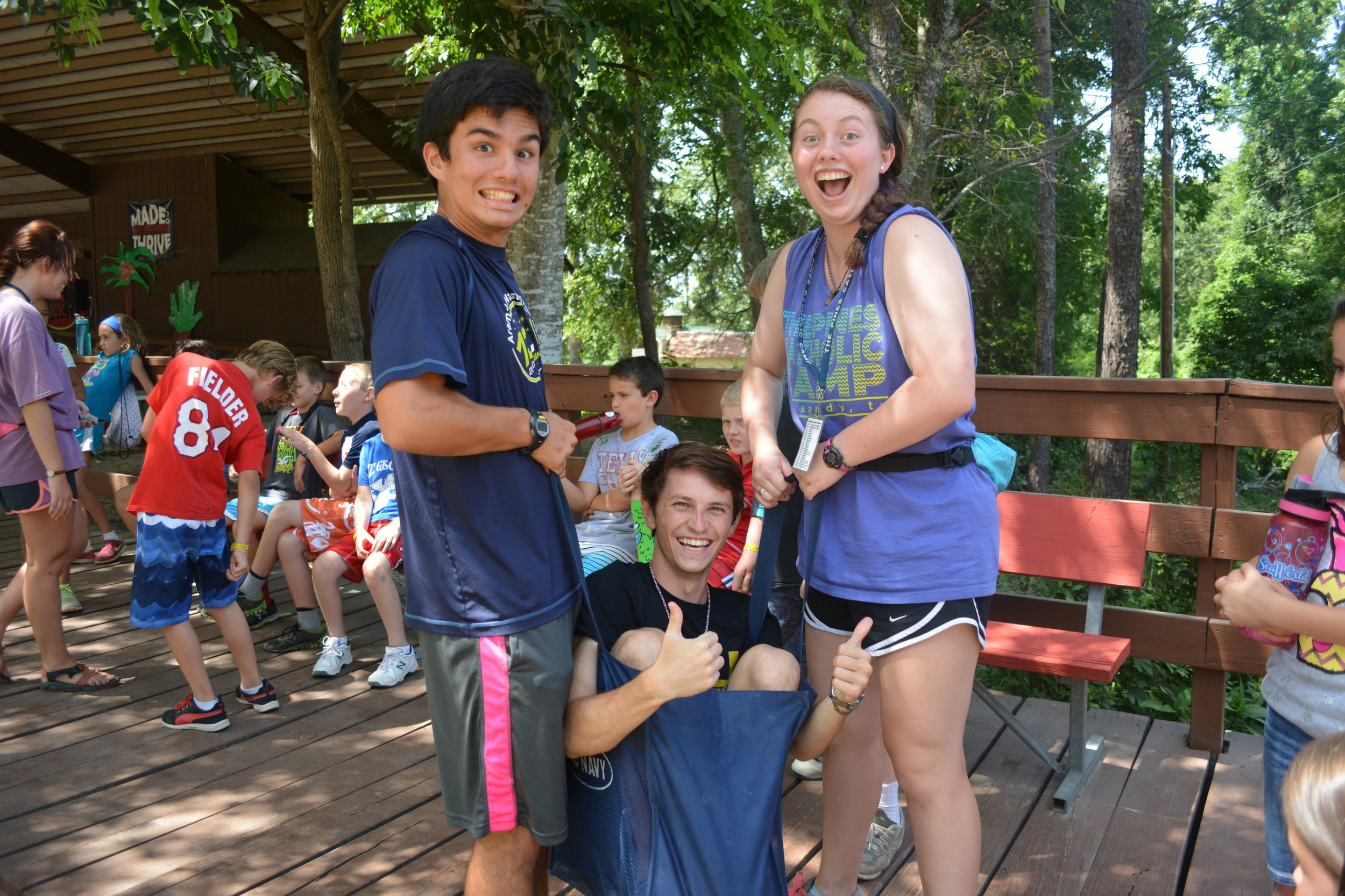 Counselor in Training - The Counselor in Training Sessions are available for rising seniors in high school. This two-week program has campers learning invaluable leadership skills while growing in love with the Lord in a deeper way. During their second week, they will be in cabins with counselors, shadowing and taking lead where opportunities present themselves.