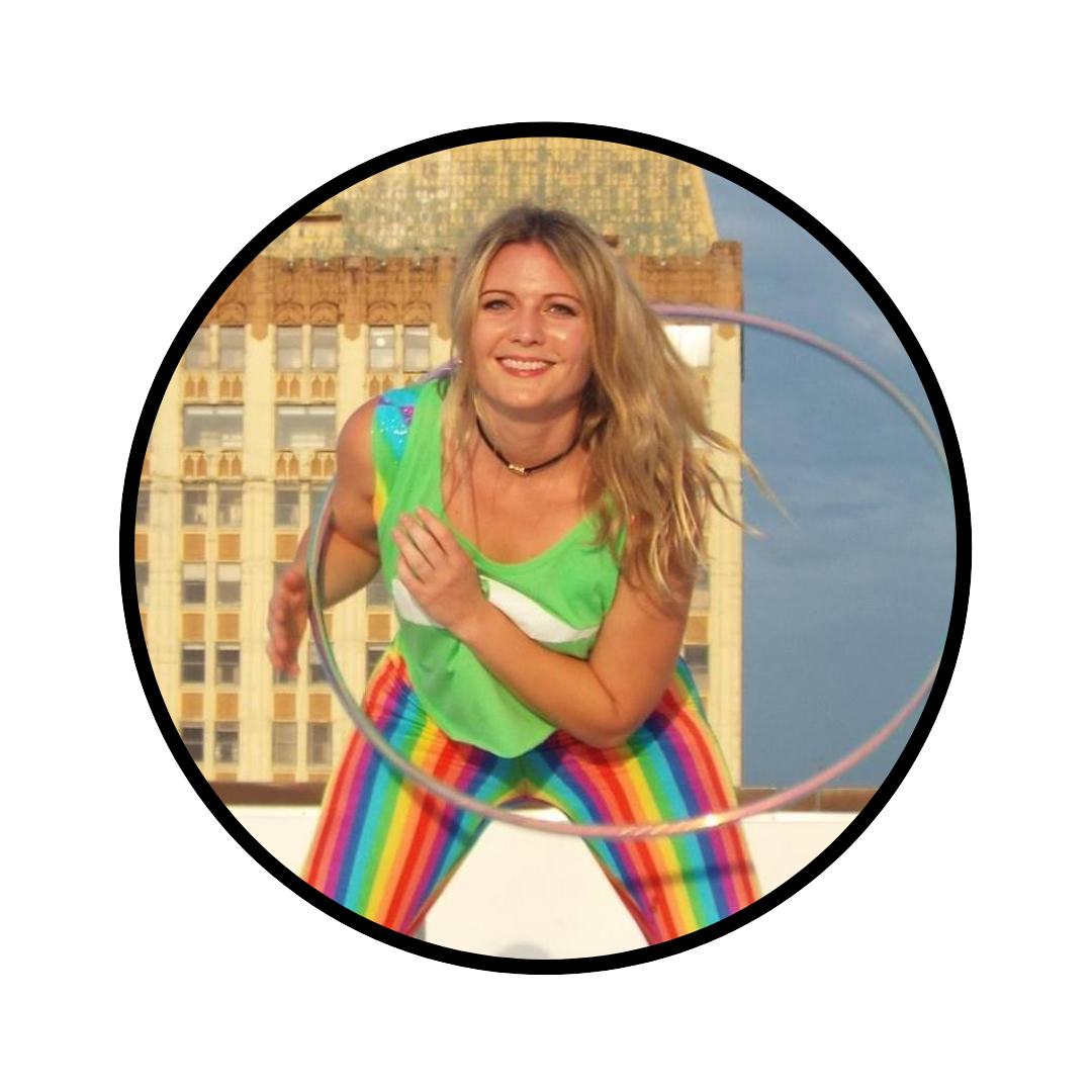 Ellen Phillips - @hoop_rebelEllen started hooping 9 years ago and it changed her life! Originally from Memphis, she spent time in Chicago and LA before moving back home in 2013. She attended her first flow festival in 2018 and knew immediately that she wanted to start one in Memphis. 11 months later, the Grind City Flow Festival had its inaugural year. She is grateful to have such an amazing team and can't wait to organize more events for the community!
