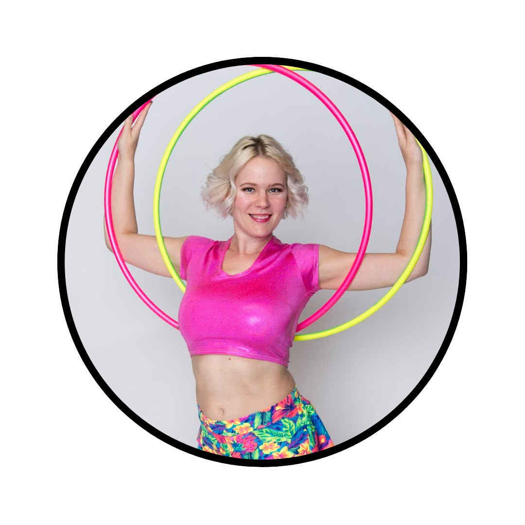 Jennie DeCarlo - @jennieangelineJennie is a Memphis native who discovered hooping by accident (it's a ridiculous story, just ask her). She grew up dancing. Her dance background includes ballet, jazz, lyrical and some modern. Being able to easily combine dance with flow arts has kept her creative spark alive. She works for Coquetry Clothing creating custom spandex clothing while running her own small business Nine Flow One, which creates flow prop accessories.
