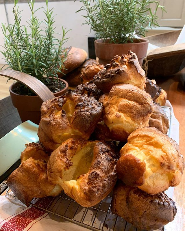 Hello Yorkshire pud! #saturdayroast #weddingfood #caterer #bath