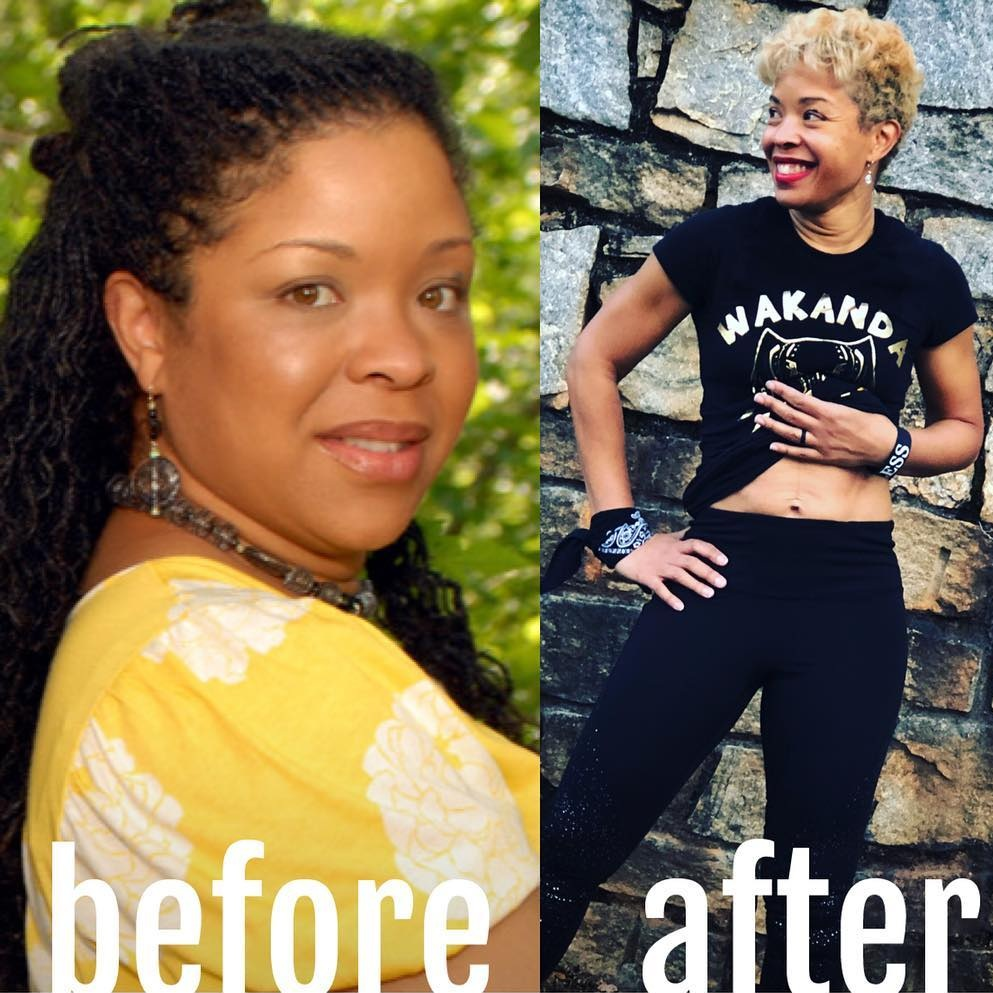 Before, 185 pounds.After, 140 pounds. - My journey continues….