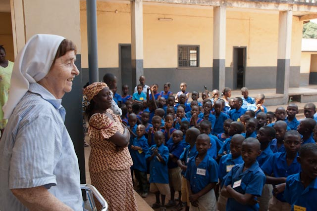 St Joseph's School  - Sinead is donating her proceeds from the book to St Joseph's School in Makeni, Northern Sierra Leone. St Joseph's educates and supports children with hearing impairments and other disabilities, including Ebola survivors. Click for more.