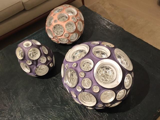 UCHIKURA Hitomi - Bright Cells, glass, sculpture