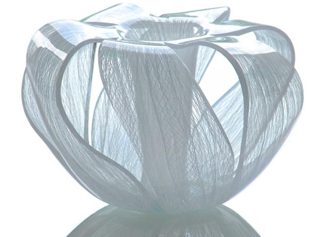 TOGASHI Youko, glass sculpture