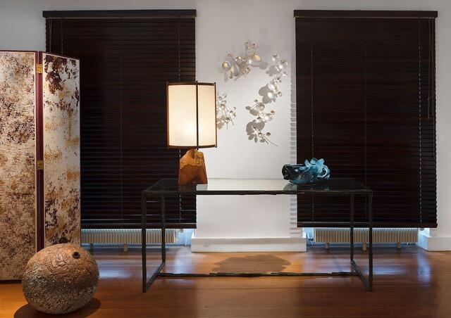 UCHIKURA Hitomi - Moon Drops, metal, sculpture