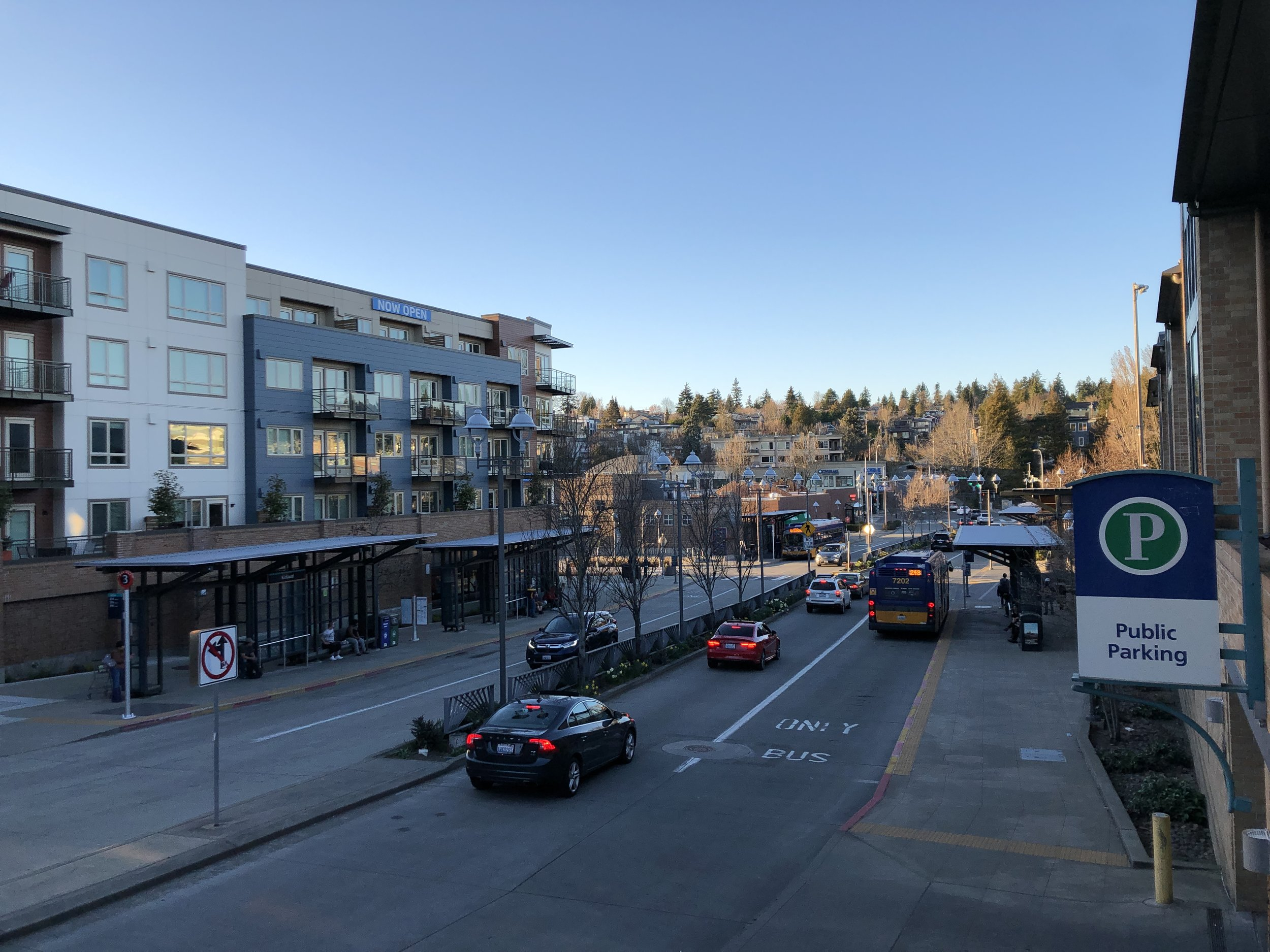 Transportation - Kirkland Transit Center - Downtown Kirkland