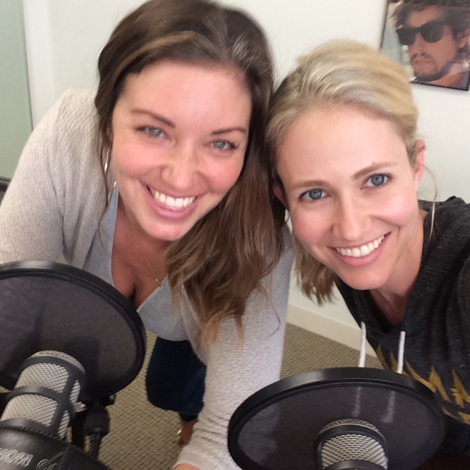 Bianca Kajlich kicked this podcast off with me back in 2014! It was all a new mom blur back then, so this blurry photo is perfect! But her voice was so soothing, her curiosity about human nature is so inspiring, and nothing makes me happier than her laugh. She's one of the most fearless women I know. She just takes that leap and experiences life to the fullest. Always.