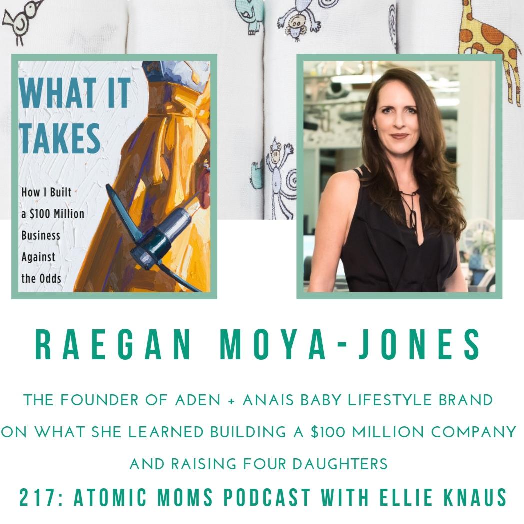 Raegan Moya-Jones on Atomic Moms Podcast