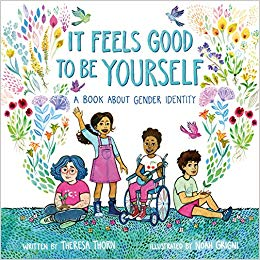 "Check out Theresa's children's book ""It Feels Good to Be Yourself"" today!"