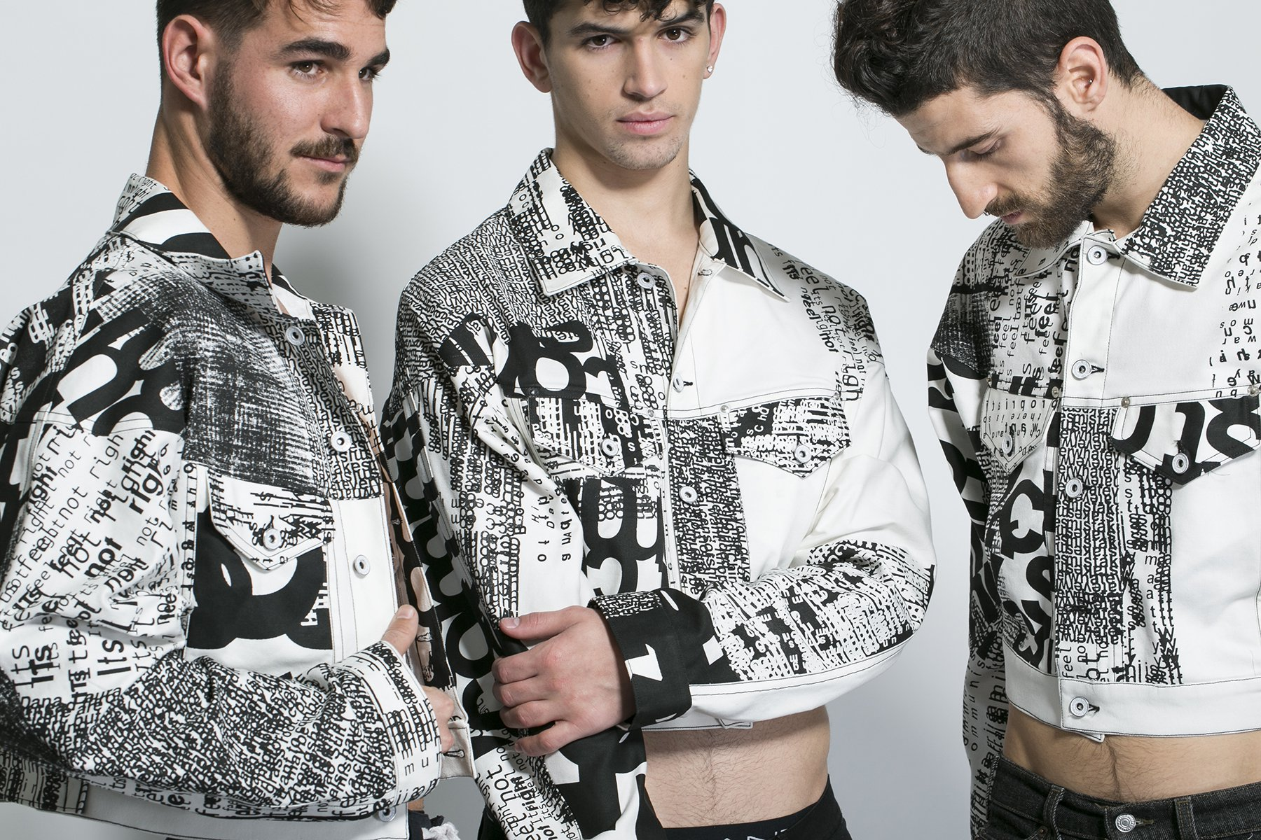 """designboom - """"Disruption jackets represent the communicative difficulties of international students""""Read More...."""
