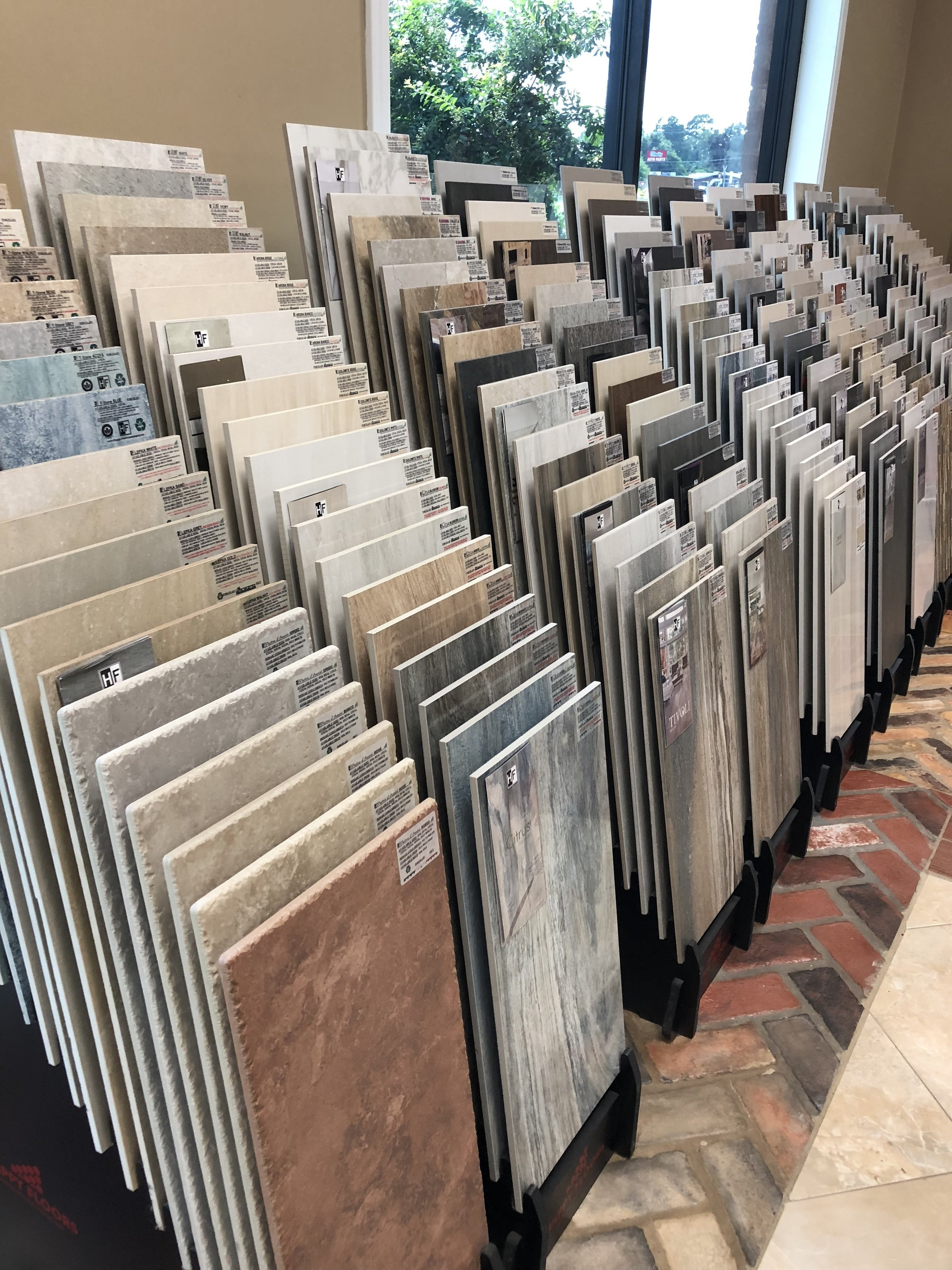 THE BEST SELECTION - We are the partner to call for all your flooring needs. We want to help you get the best floor, tile, or shower you have ever had. Our job is to save you time and money on every project with quality products at top value. So give us a call or come by the store and let's get started.