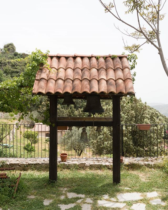 """Church Bell, Stilo. . I accidentally rang this bell whilst there was a talk going on. Everyone stared at me to where I responded slowly and nervously with my very little, limited Italian. . """"Scusa. Tranquilo. Tranquilo."""" """"Sorry. Calm. Calm."""" . 12/05/17 . . . . #italy #italia #calabria #stilo #landscape #scenery #sceneryporn #travel #travelblogger #travelgram #travelphotographer #ig_italia #profile_vision #erasmus #erasmustrip #wanderlust #italiasocial #visititaly #instatravels #artofvisuals #viaggiare #explore #natgeotravel #beautifuldestinations #travelmore #natureonly #getlost #treescape"""
