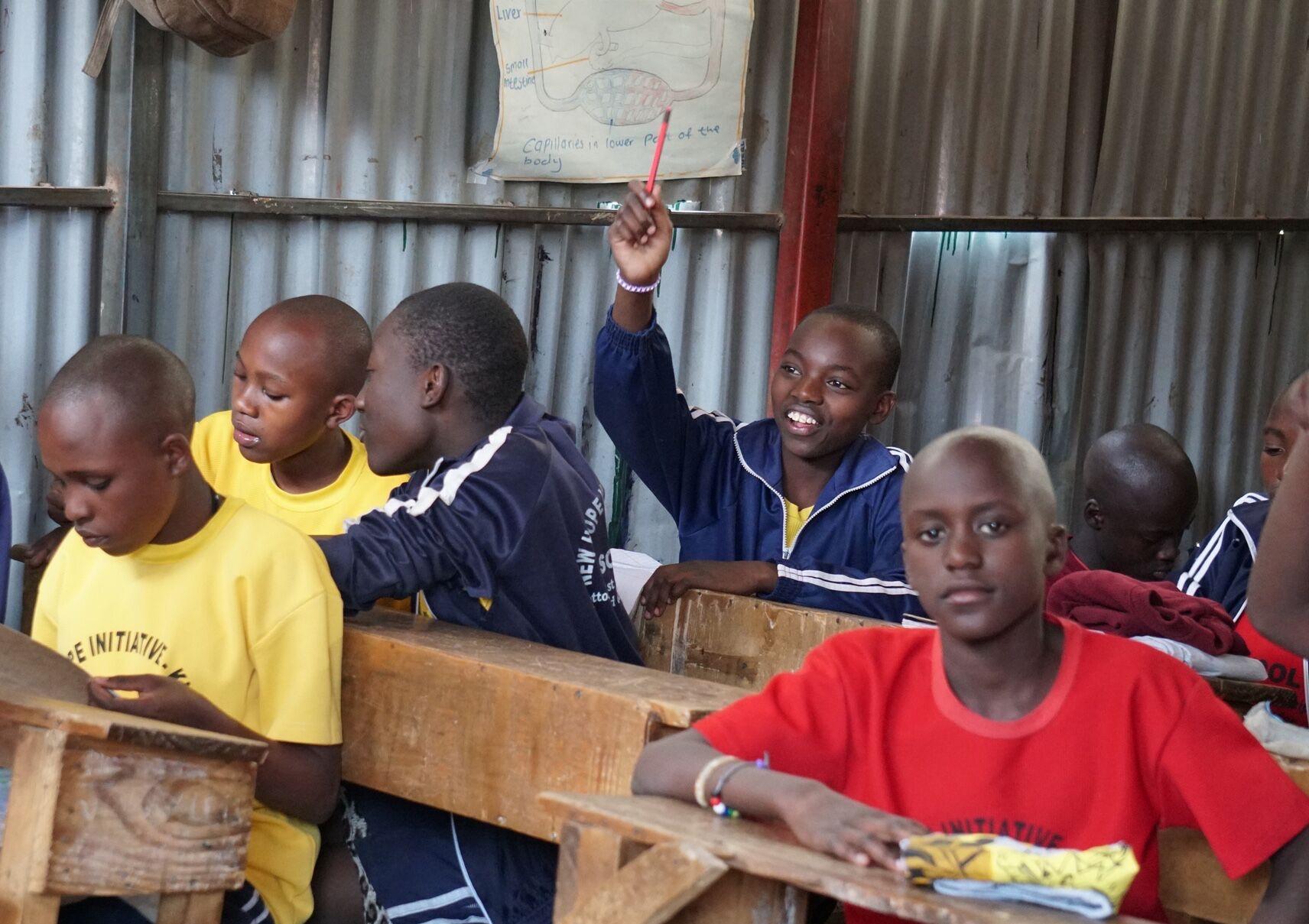 New Hope Academy - Happy Students in Kibera