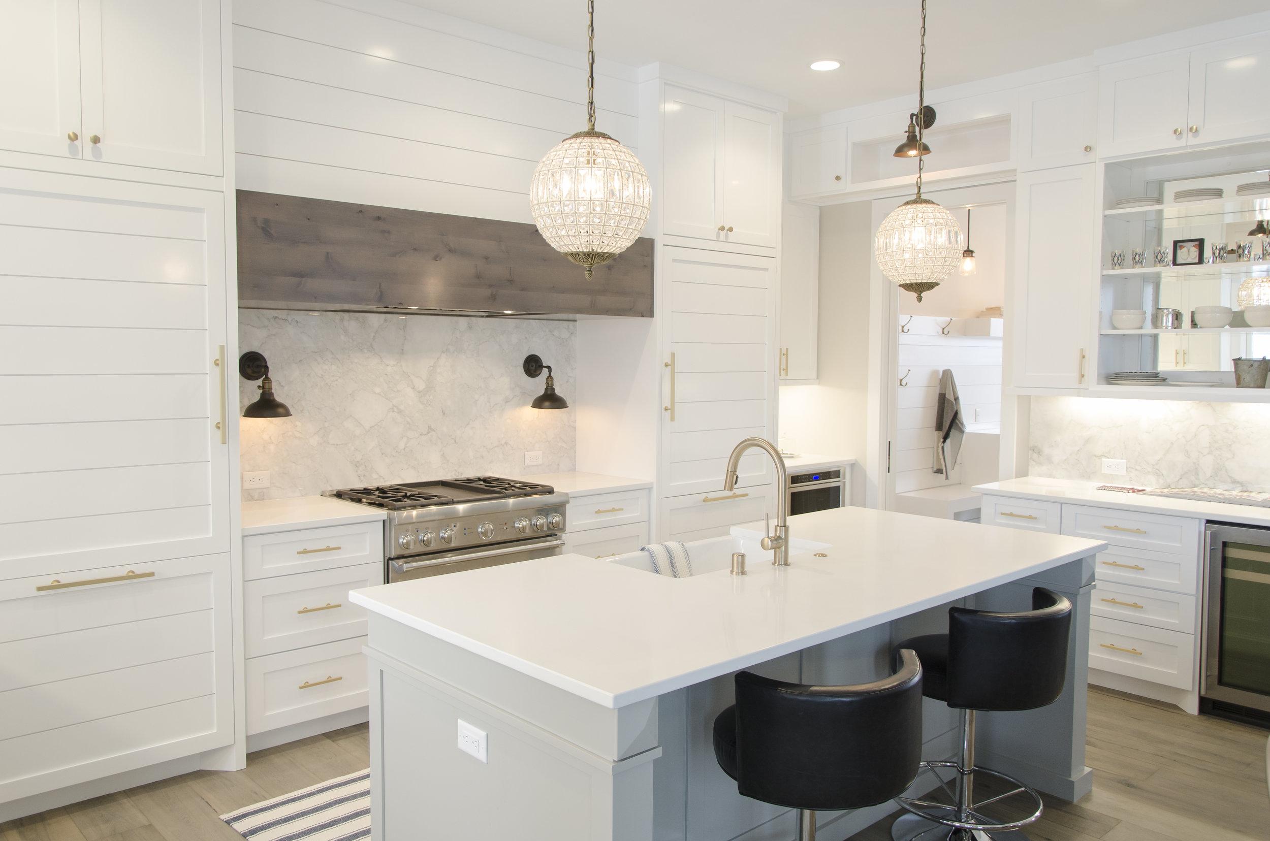 Beautiful and modern kitchen.