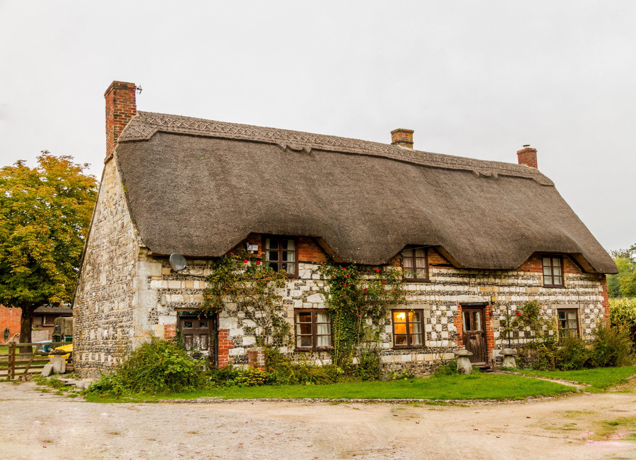 Really unique cottage house.