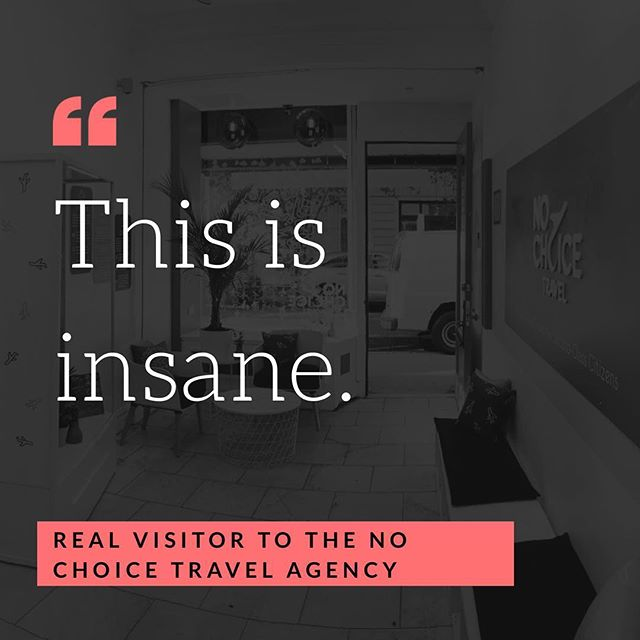 The customer is always right! #nochoicetravel #travel #tuesday #tuesdaymotivation #tuesdayquotes #customer #customerfeedback