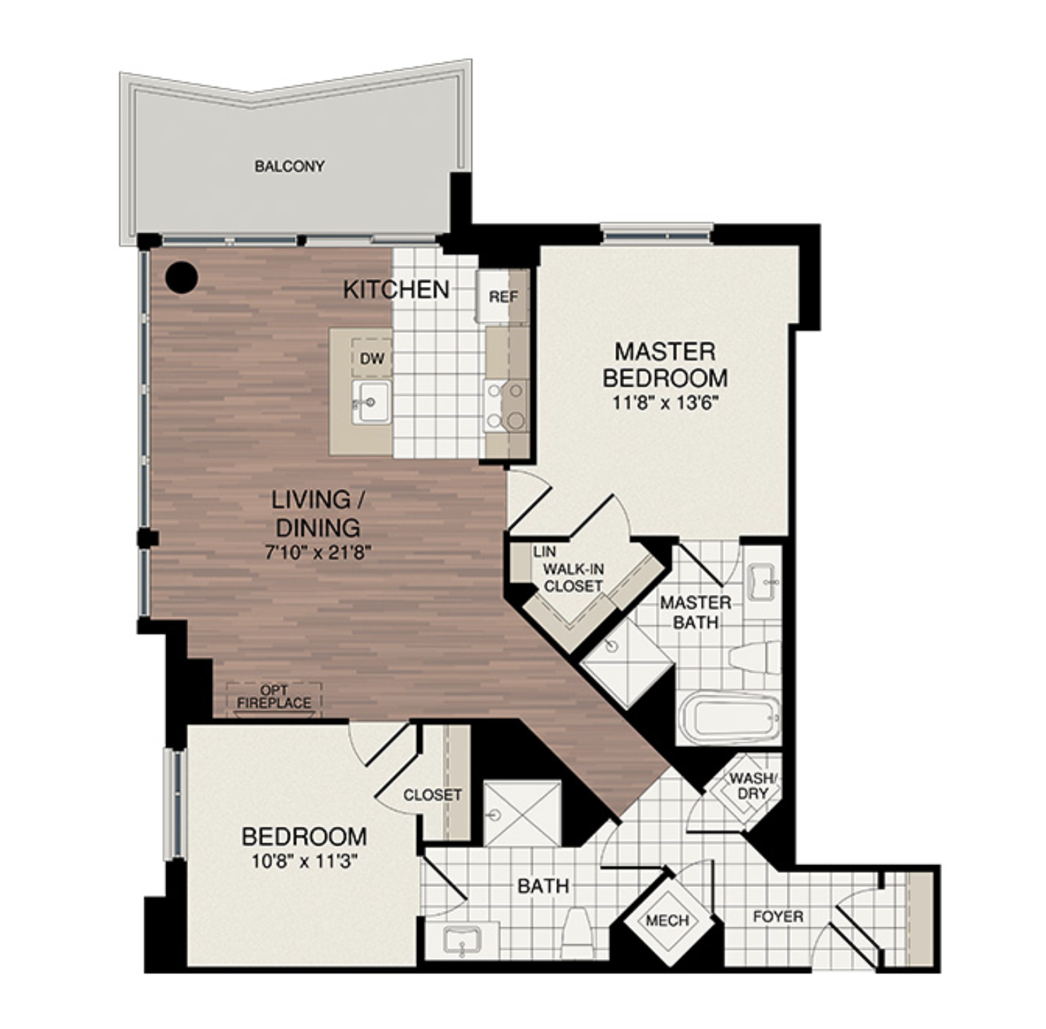 2 Bedroom - Starting from the mid $600's3 Samples Shown