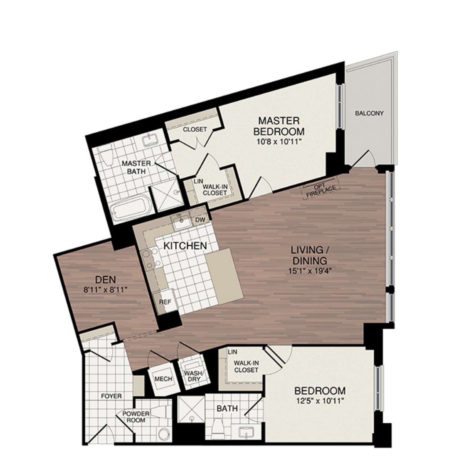 2 Bedroom + Den - Starting from the low $800's2 Samples Shown