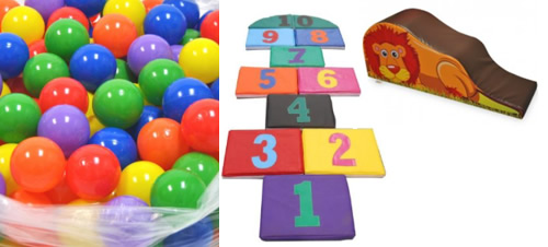 Contribute towards Kitting out the Soft Playroom in the Paediatric area - Play Balls,Padding for Floors,Small Soft Slides