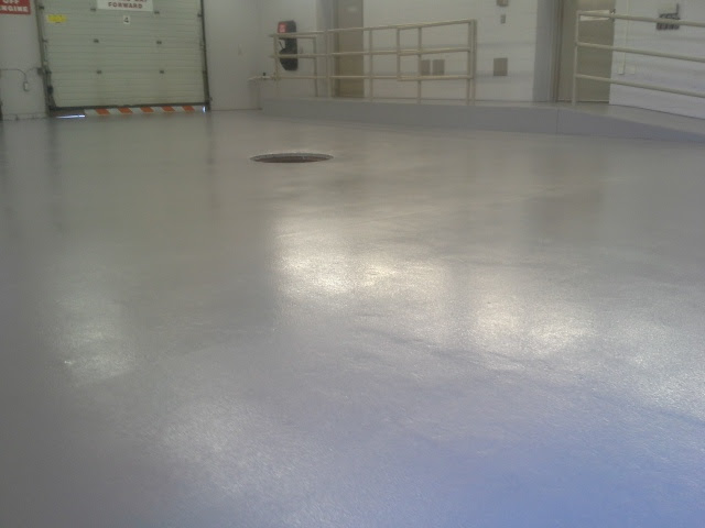 A shop floor finish is a heavy duty multiple layer coating suitable for garages, shops or any area in need of a durable slip resistant surface