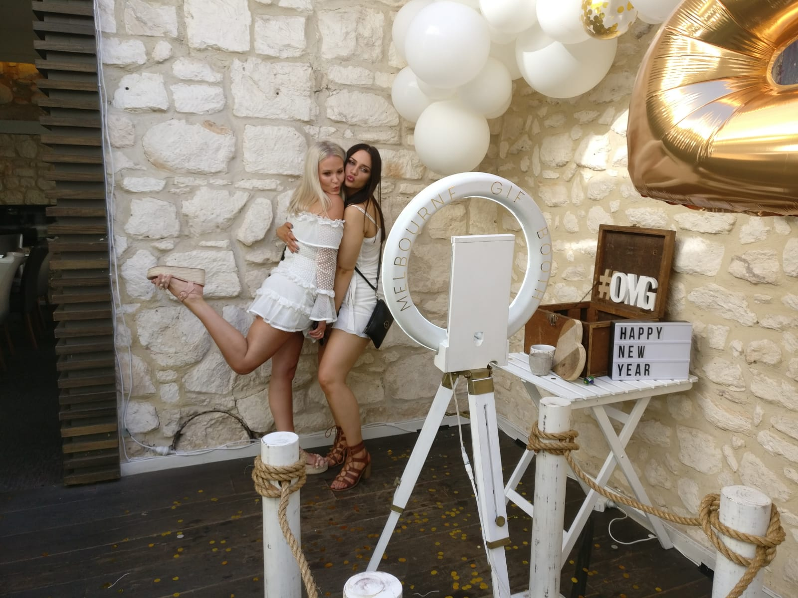 NYE White Party     Venue: Hotel Sorrento    MGB Highlights: Erm, the theme! Obviously!