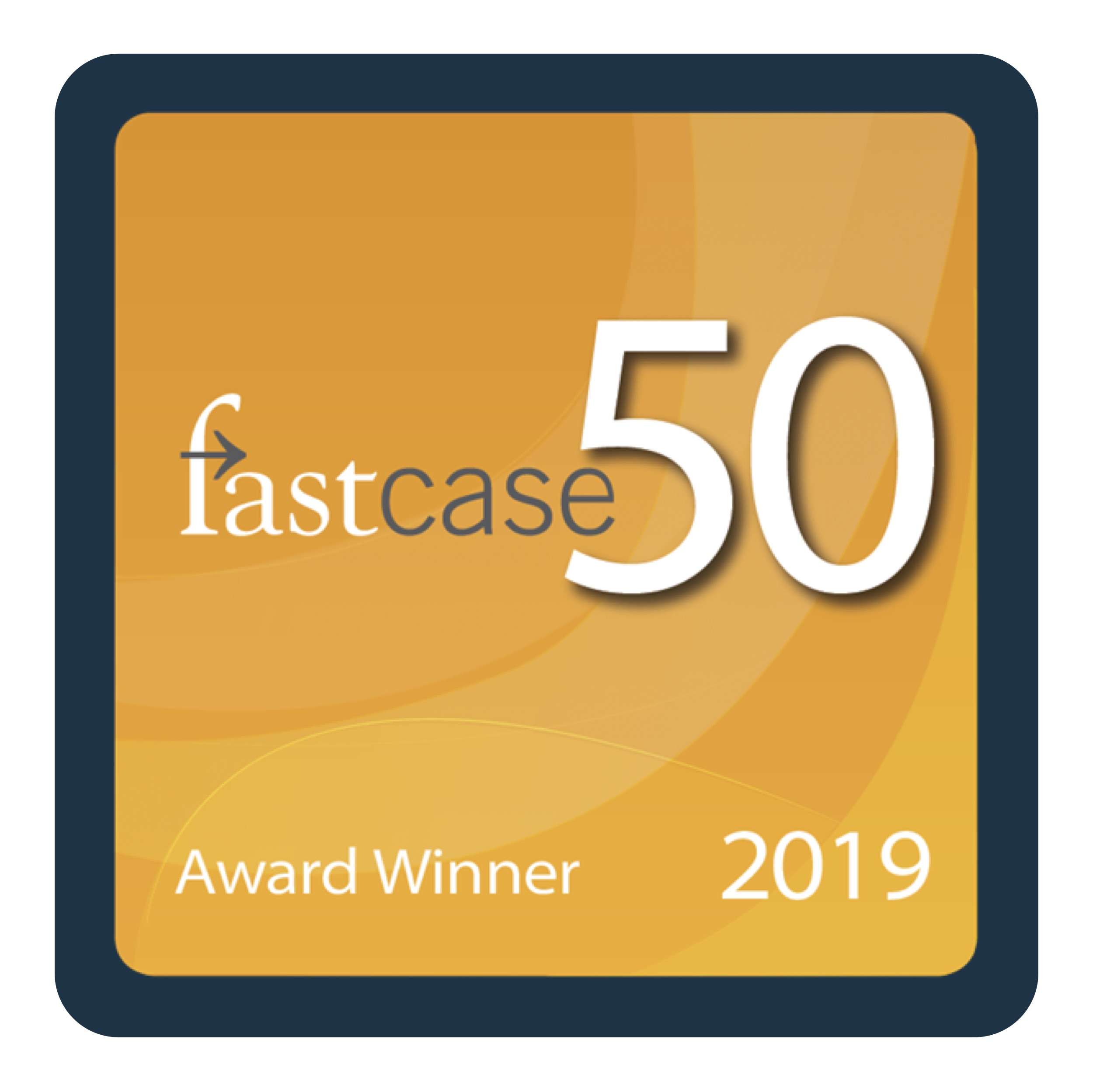 Fastcase 50 Award Winner
