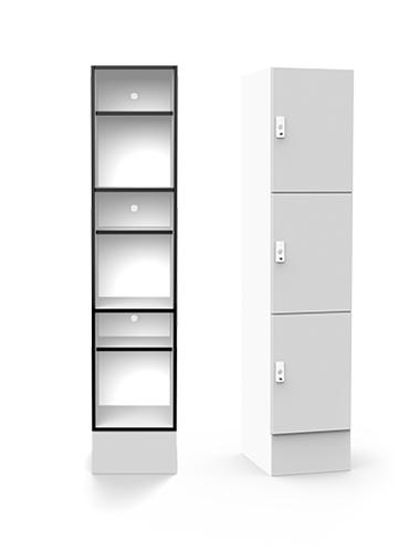 Lockin H3 shelving locker