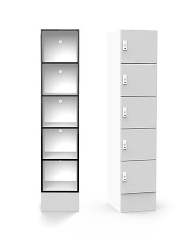 Lockin H5 shelving locker