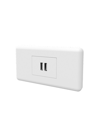 Locker accessory option USB points