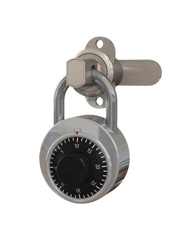Padlock receptor from Lockin lockers