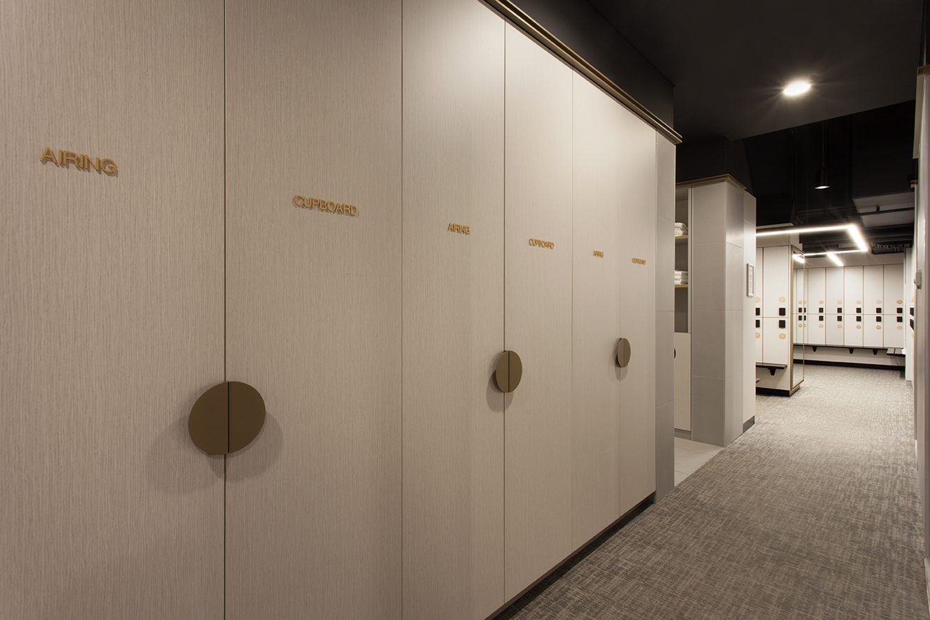 CBW end of trip lockers and airing cupboards by Lockin