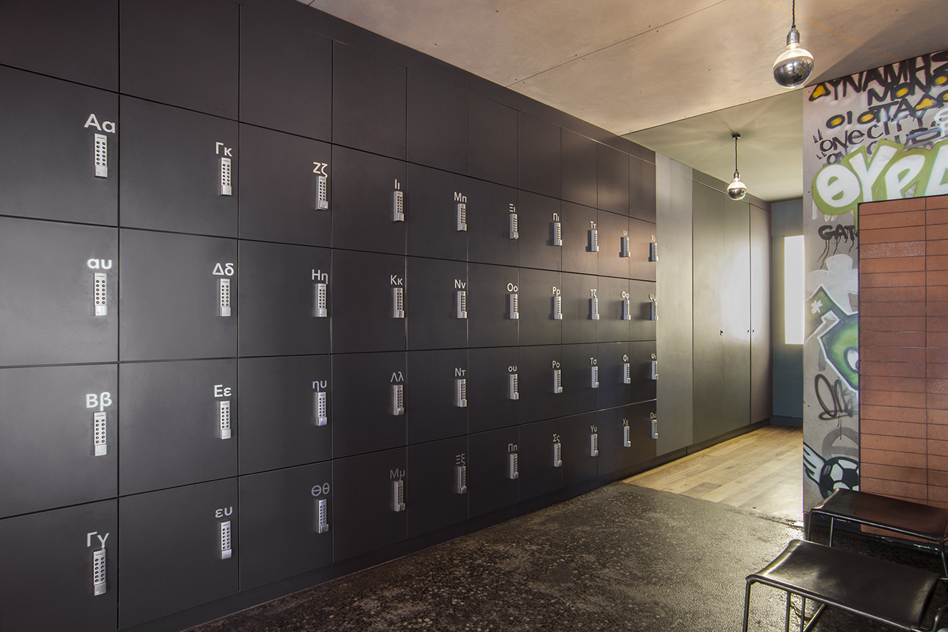 Gazi Restaurant staff lockers by Lockin Melbourne