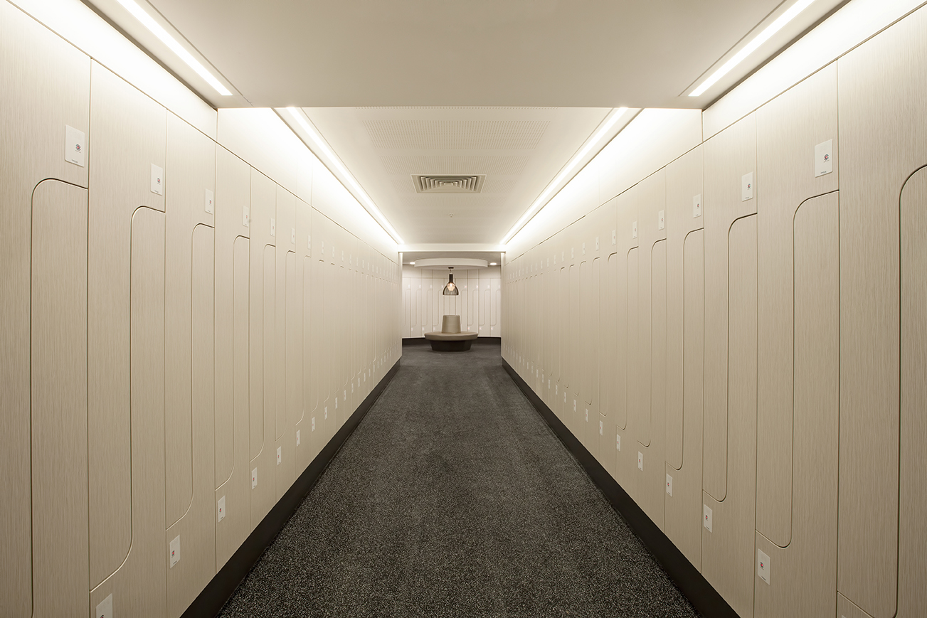 Lockin lockers at Freshwater Place