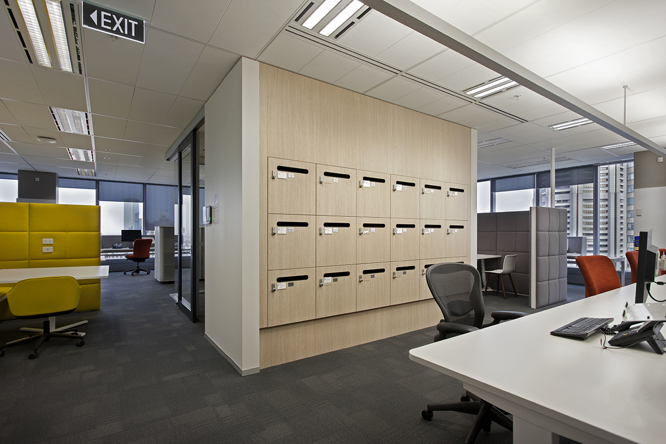 Ernst & Young Office Lockers by Lockin