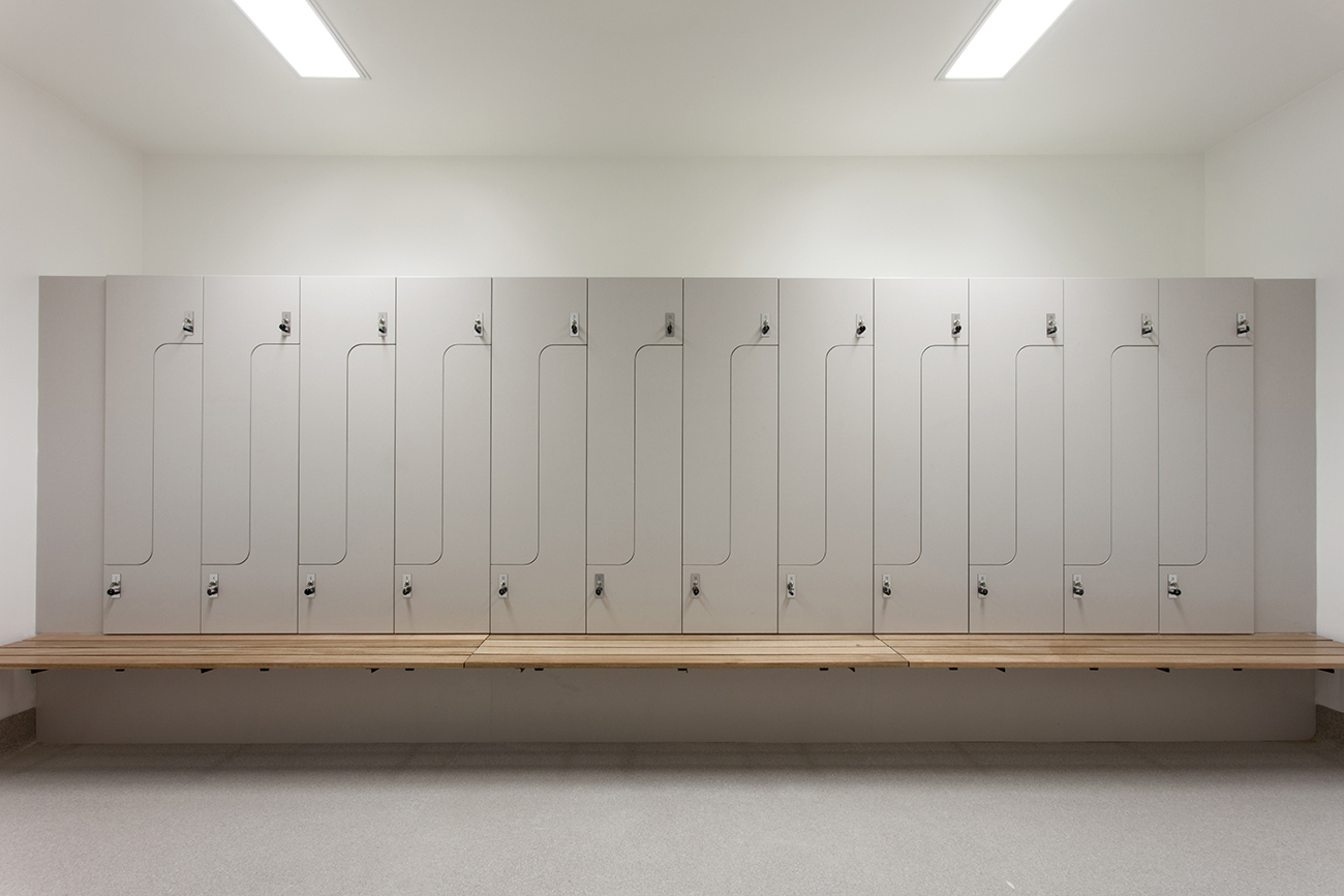 Audi Doncaster staff change room lockers by Lockin