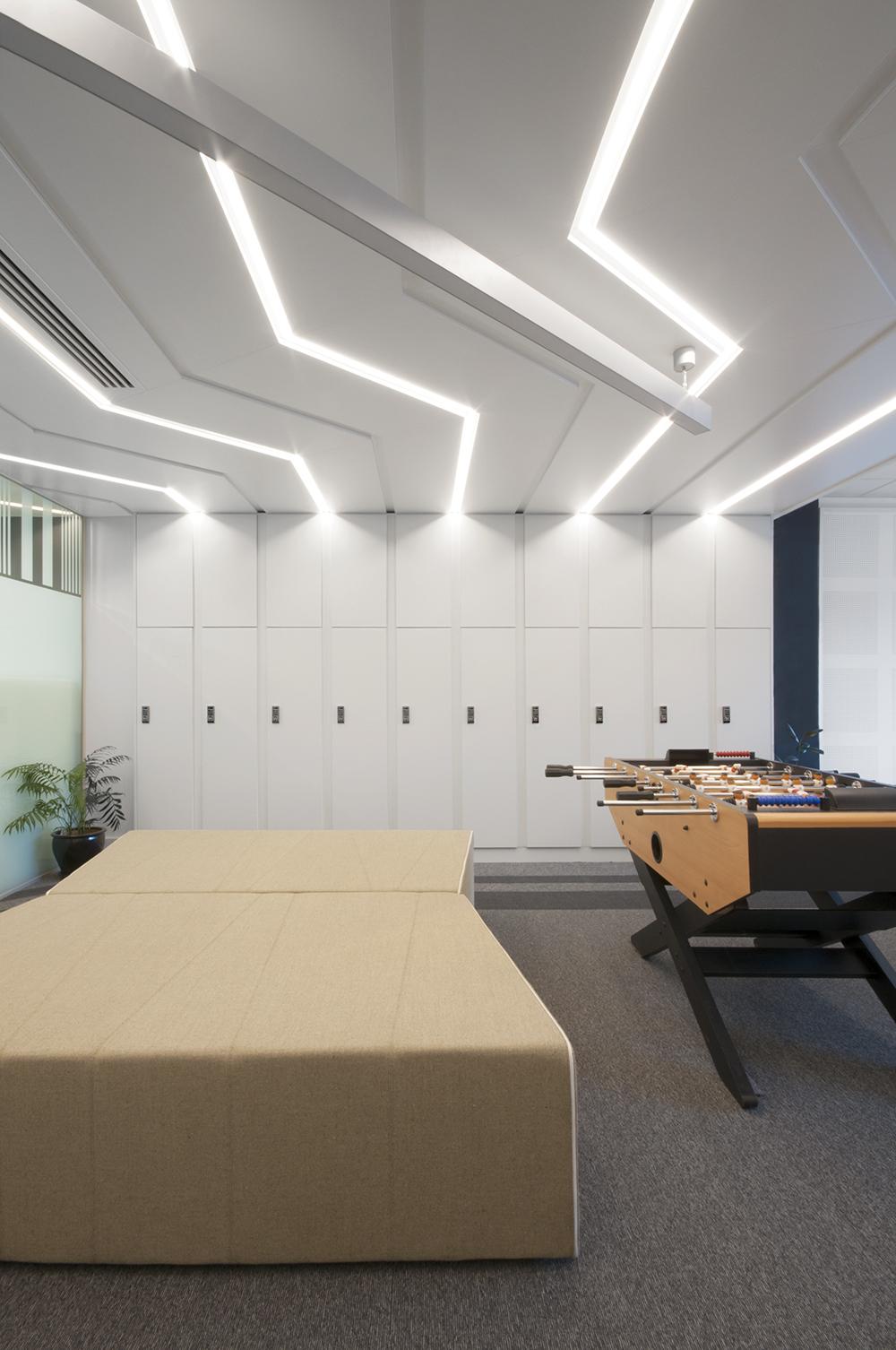 Monash Uni lockers by K20 Architecture and Lockin lockers