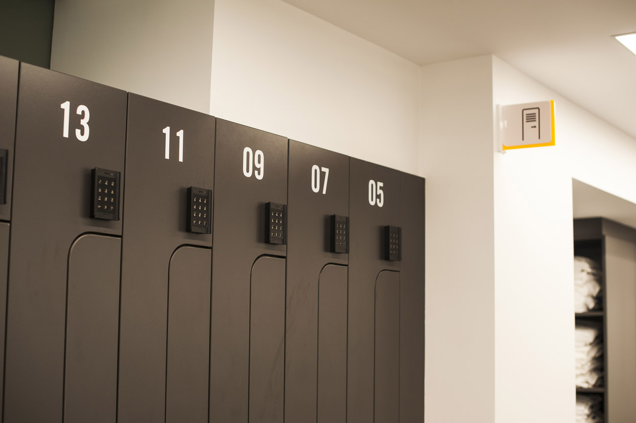 8 Exhibition Street OCS code lock